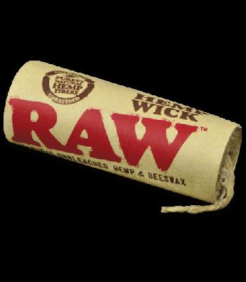 RAW 6 METER HEMP WICK