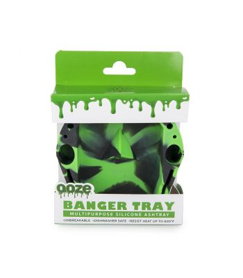 BANGER SILICONE ASHTRAY BY OOZE