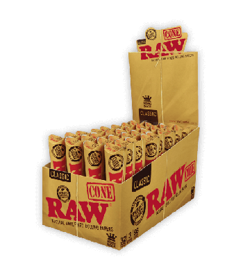 RAW KING SIZE (3 CONES IN 1 PACK) [BUNDLE OF 5 PACKS]