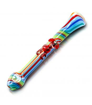 LINED ANIMAL ONIES ONE HITTER BY JEM GLASS