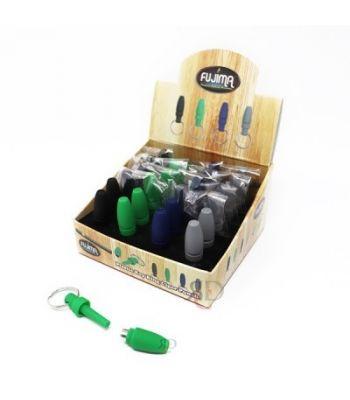FUJIMA PLASTIC KEY RING CIGAR PUNCH