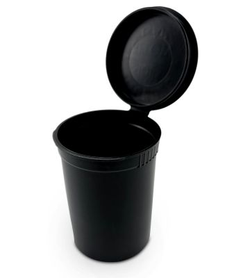 PLASTIC SQUEEZE TO OPEN STORAGE CONTAINER