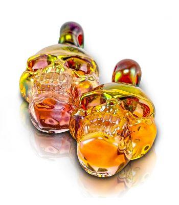 SKULL PENDANT FLAT BY CHERRY GLASS