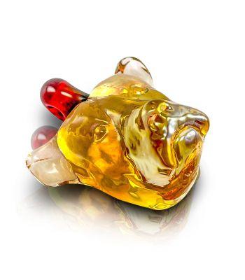 PITBULL PENDANT BY CHERRY GLASS