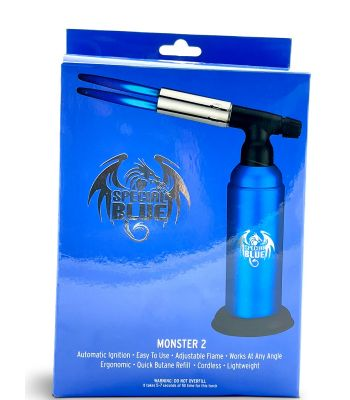 MONSTER TORCH SINGLE FLAME BY SPECIAL BLUE