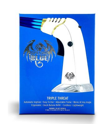 TRIPLE THREAT TORCH TRIPLE FLAME BY SPECIAL BLUE