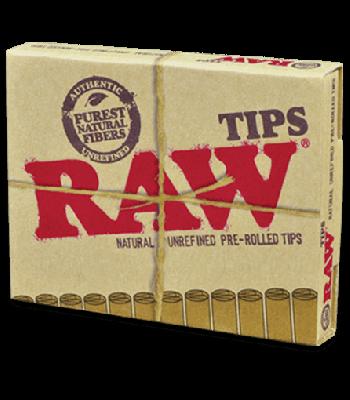 RAW PRE-ROLLED TIPS REGULAR [BUNDLE OF 5]