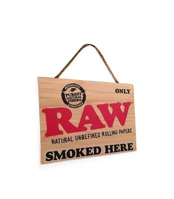 RAW HANGING SIGN SMALL