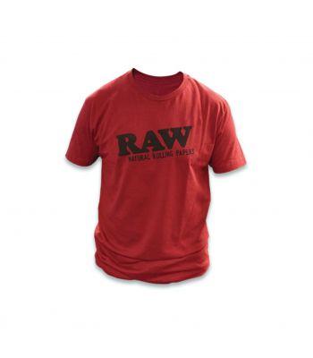 RAW LIFE DARK RED T- SHIRT
