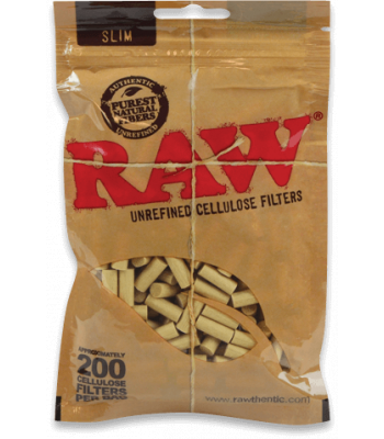 RAW CELLULOSE FILTERS SLIM 200 [2 PACKS]