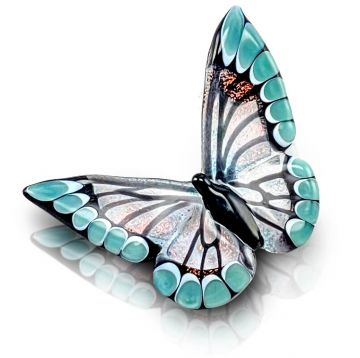 BUTTERFLY PENDANT BY MZGLASS